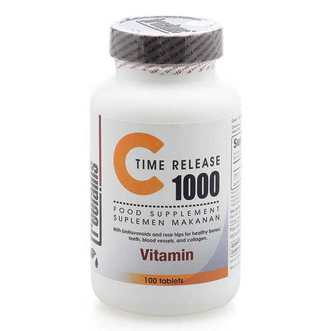 Treelains, C 1000 mg Time Release with Rosehips, 100 Tablets