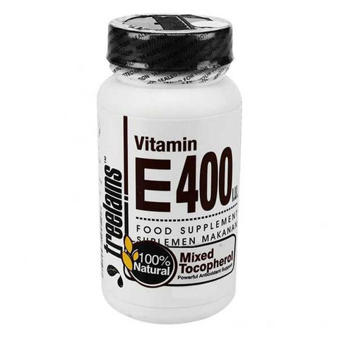 Treelains, Vitamin E 400 IU Natural Mixed Tocopherols, 60 Softgels