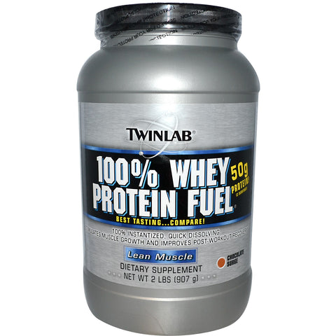 Twinlab, 100% Whey Protein Fuel (Chocolate), 907g (2lbs)