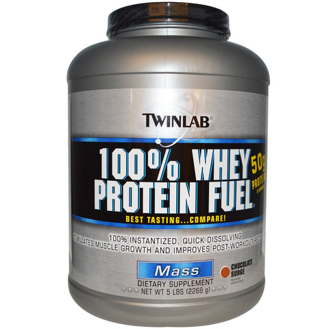 Twinlab, 100% Whey Protein Fuel (Chocolate), 2.27kg (5lbs)