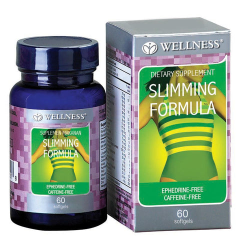Wellness, Slimming Formula, 60 Softgels