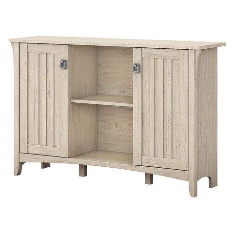 Rustic Country Accent Storage Cabinet Buffet in Antique White