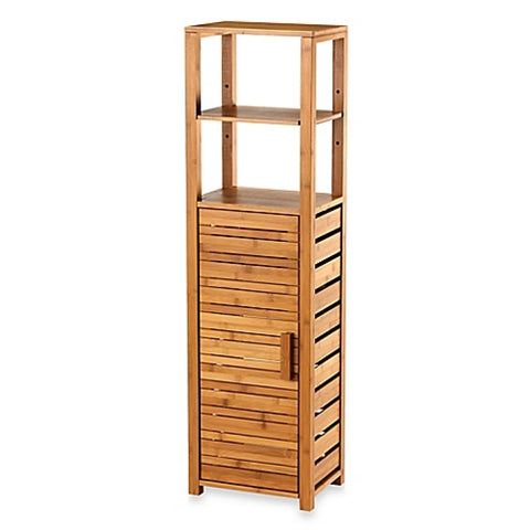 Bathroom Storage Organizer Shelves Bamboo