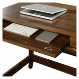 Writing Desk Wood and Iron Bar