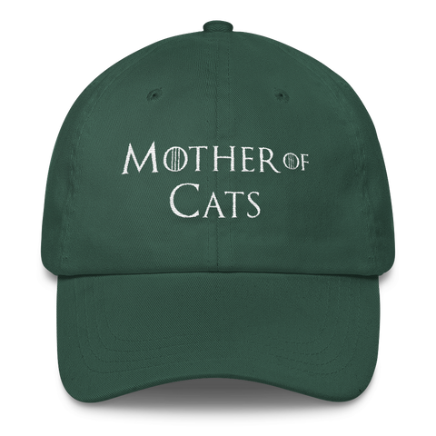 7c8ccf8fef4 Mother Of Cats Hat Baseball Hat Dad Cap – moodshop.co