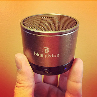 Image of Blue Piston Speaker from Logiix