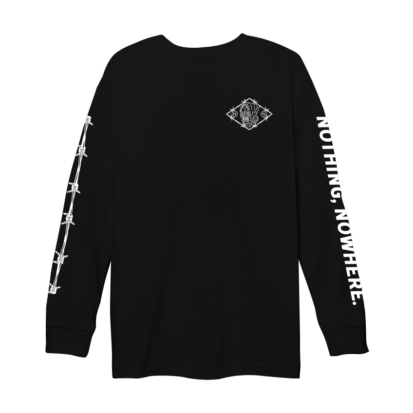 barbed wire longsleeve
