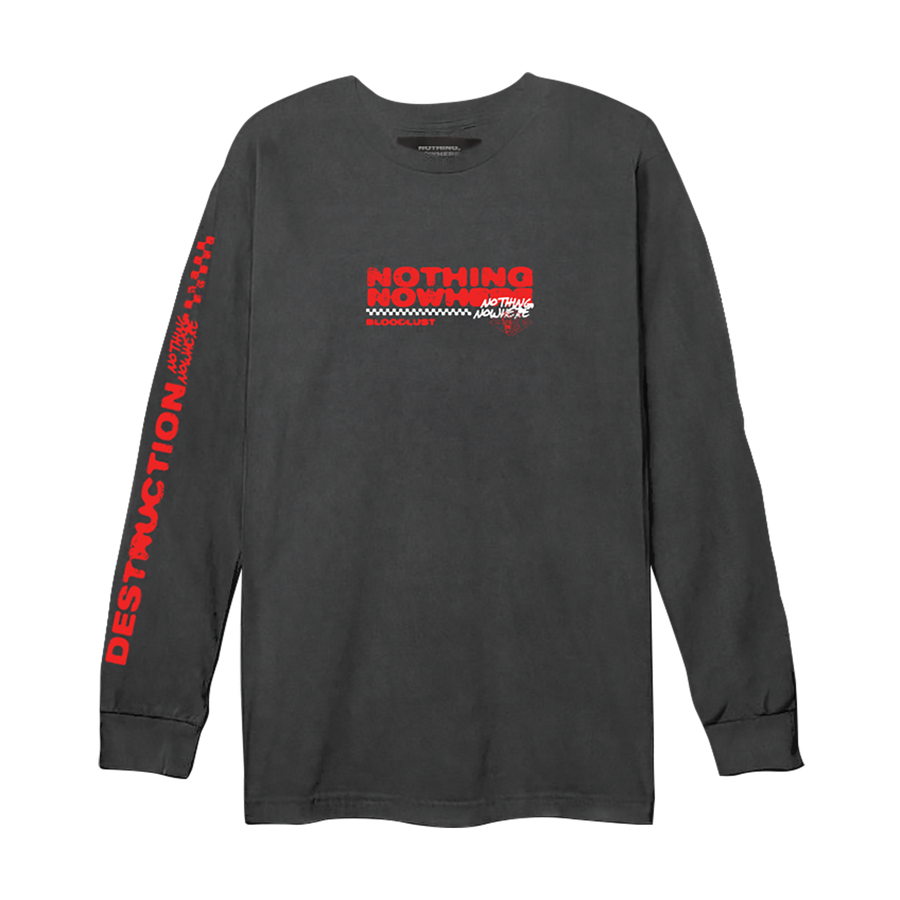 Destruction Checkers Long Sleeve