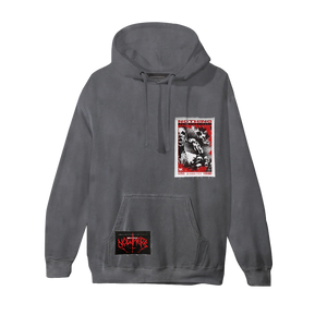 Bloodlust Pigment Dyed Patch Hoodie