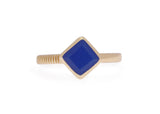Lapis Blue Jade Ring