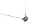 Natural Uncut Diamond Necklace