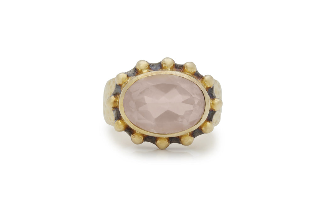 Rose Quartz Signature Ring