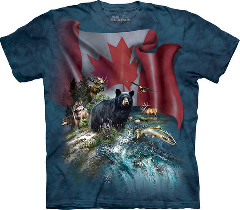 The Mountain T-Shirt - Canada The Beautiful (Adult Unisex)