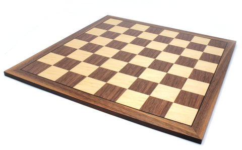"Chess Board 16""X16"" Laminated wood 40.64cm and each square equal 1.65 inch or 4.2cm"