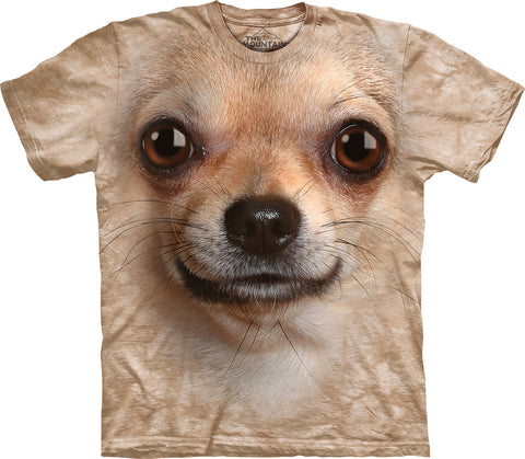 The Mountain T-Shirt - Chihuahua Face (Adult Unisex)
