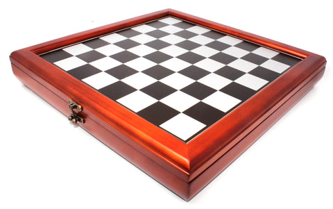 Deluxe Wooden Box for Chess Pieces