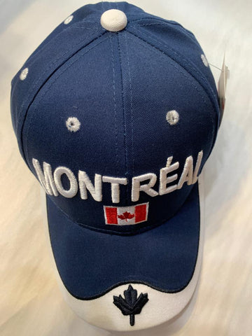Montreal Canada Navy Blue Cap