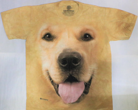 The Mountain T-Shirt - Big Face Golden (Adult Unisex)