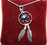 Dreamcatcher Necklace Sterling Jewelry ( made in Canada )