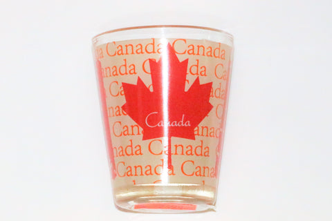 Canada Leaf Shot Glass Souvenir