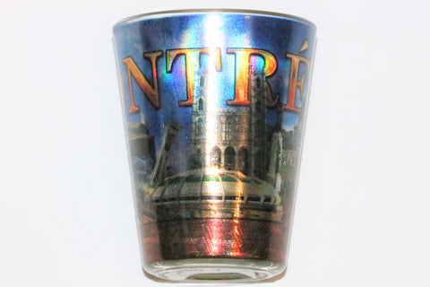 Montreal Sites Shot Glass Souvenir