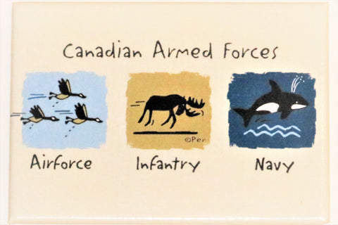 Canadian Armed Forces Fridge Magnet