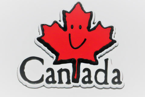 Happy Canada Leaf Fridge Magnet PVC