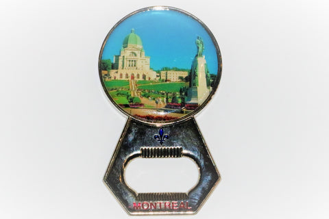 Saint Joseph's Oratory of Montreal Bottle Opener Fridge Magnet