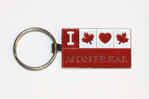 I Love Montreal Souvenir Keychain