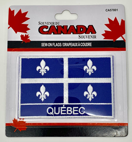 Province of Quebec Sew-on Flag