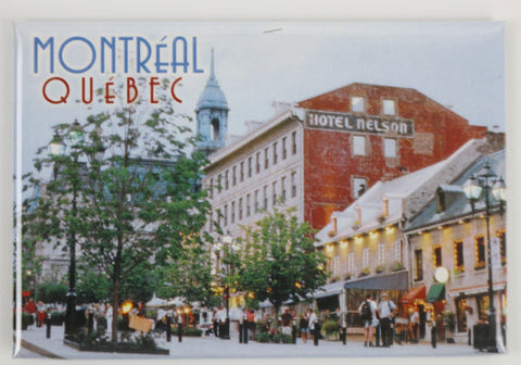 Place Jacques-Cartier in Old Montreal Fridge Magnet