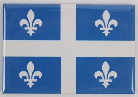 Quebec Flag Fridge Magnet