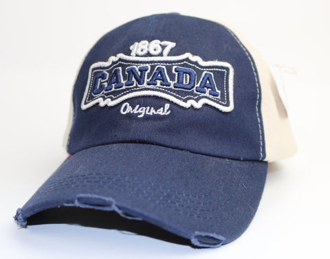 Canada Original 1867 Navy Blue Souvenir Adult Hat