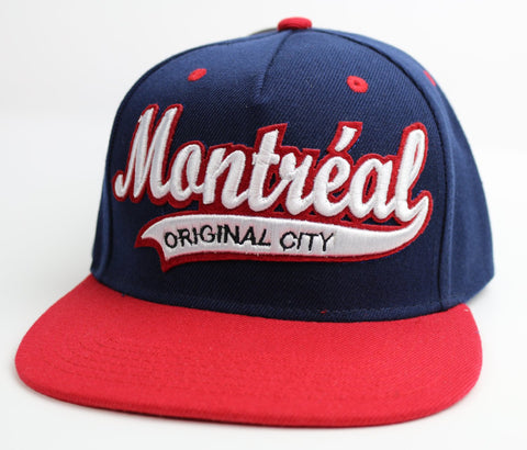 Montreal Original City Navy Blue Souvenir Adult Hat