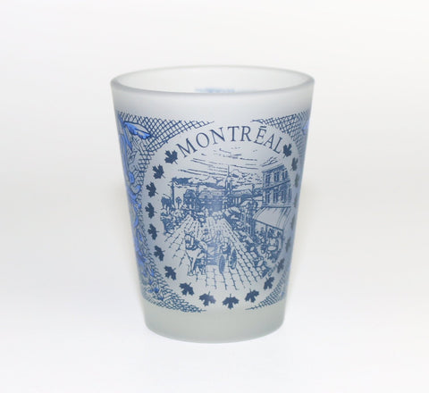 Old Montreal History Shot Glass Souvenir