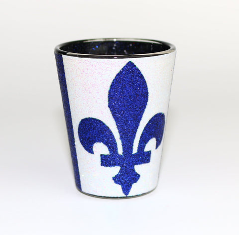 Quebec Flag Shot Glass Souvenir