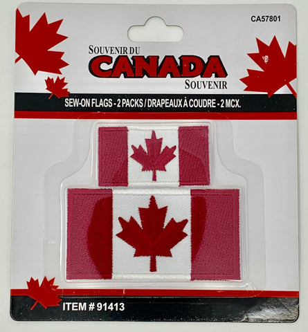 Canada Sew-On Flags