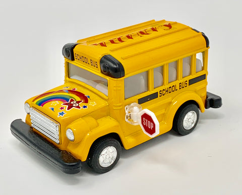 Small Rainbow Canada Yellow School Bus