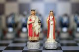 Resin Ottoman VS Byzantine Themed Chess Pieces