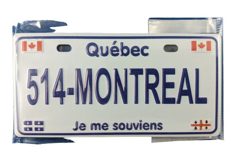 514-Montreal Fridge Magnet