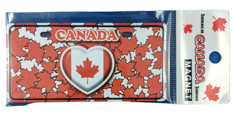 Heart for Canada Fridge Magnet