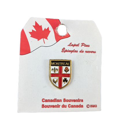 Montreal Coat of Arms Lapel Pin