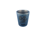 Montreal Canada Maple Leaf Blue Shot Glass