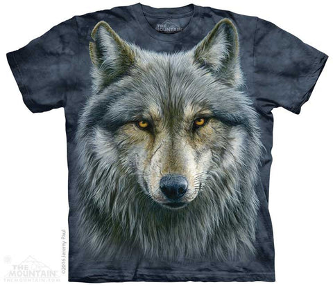 The Mountain T-Shirt - Warrior Wolf (Adult Unisex)