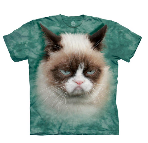 The Mountain T-Shirt - Grumpy Cat (Adult Unisex)