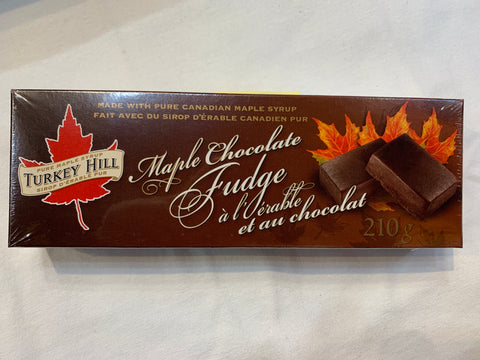 Turkey Hill Maple Chocolate Fudge - 210 g