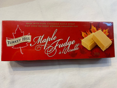 Turkey Hill Maple Syrup Cream Fudge - 210 g