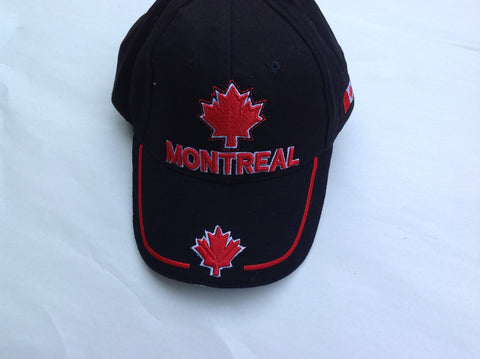 Montreal Canadian Maple Leaf Cap Black color