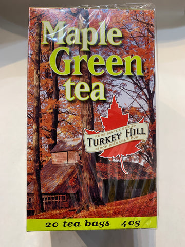 Turkey Hill Maple Syrup Green Tea (20 Tea Bags)
