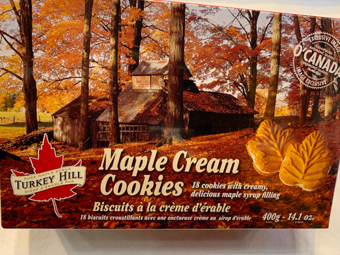 Turkey Hill Maple Syrup Cream Cookies - 400g